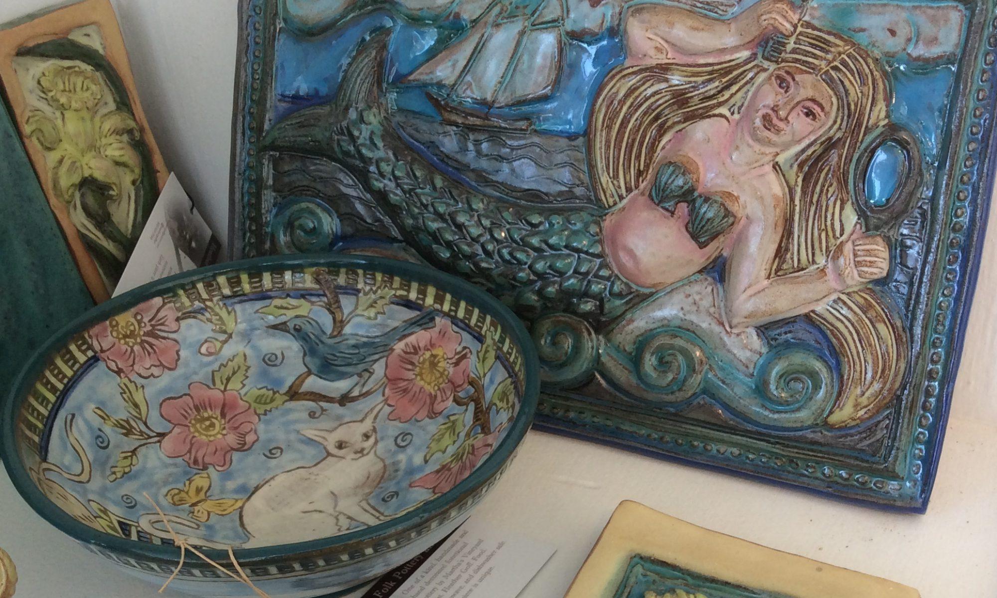 Folk Pottery and Folk Tiles